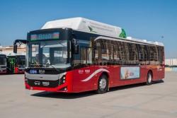 Bakıya 12 metrlik avtobuslar gətirilib