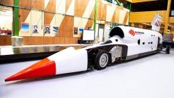 Səsdən daha sürətli maşın yeni rekorda imza atdı: 790 km/saat - VİDEO