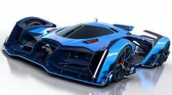 Futuristik gələcək konsepsiyası – Buqatti Vision Le Mans